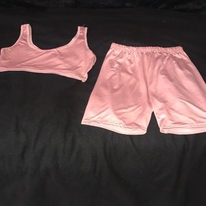 Other - Two piece pink set
